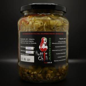 Hottie Chili Jalapeno vegyes savanyúság 720 ml