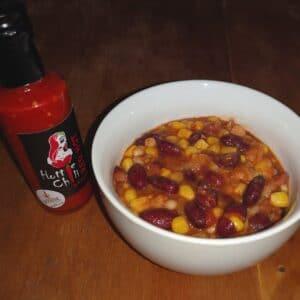Chilis bab Hottie Chili módra